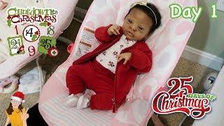 Reborn Countdown to Christmas! Changing Baby Dakota - Day 1 | Kelli Maple