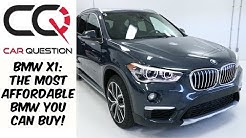 2018 BMW X1: Cheapest BMW you can BUY! | Review Part 1/3