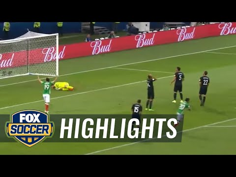 Raul Jimenez equalizes with beautiful goal for Mexico | 2017 FIFA Confederations Cup Highlights