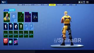 All new leaked skin sets and emotes in fortnite - 15th jan 2019