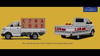 Suzuki Mega Carry Xtra | PakWheels Review | Interior | Exterior | Specs | Price