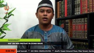 Ngi' sin Way Pagtaat pa Duwa Maas - Shaykh Wajir Miraji (Tausug)
