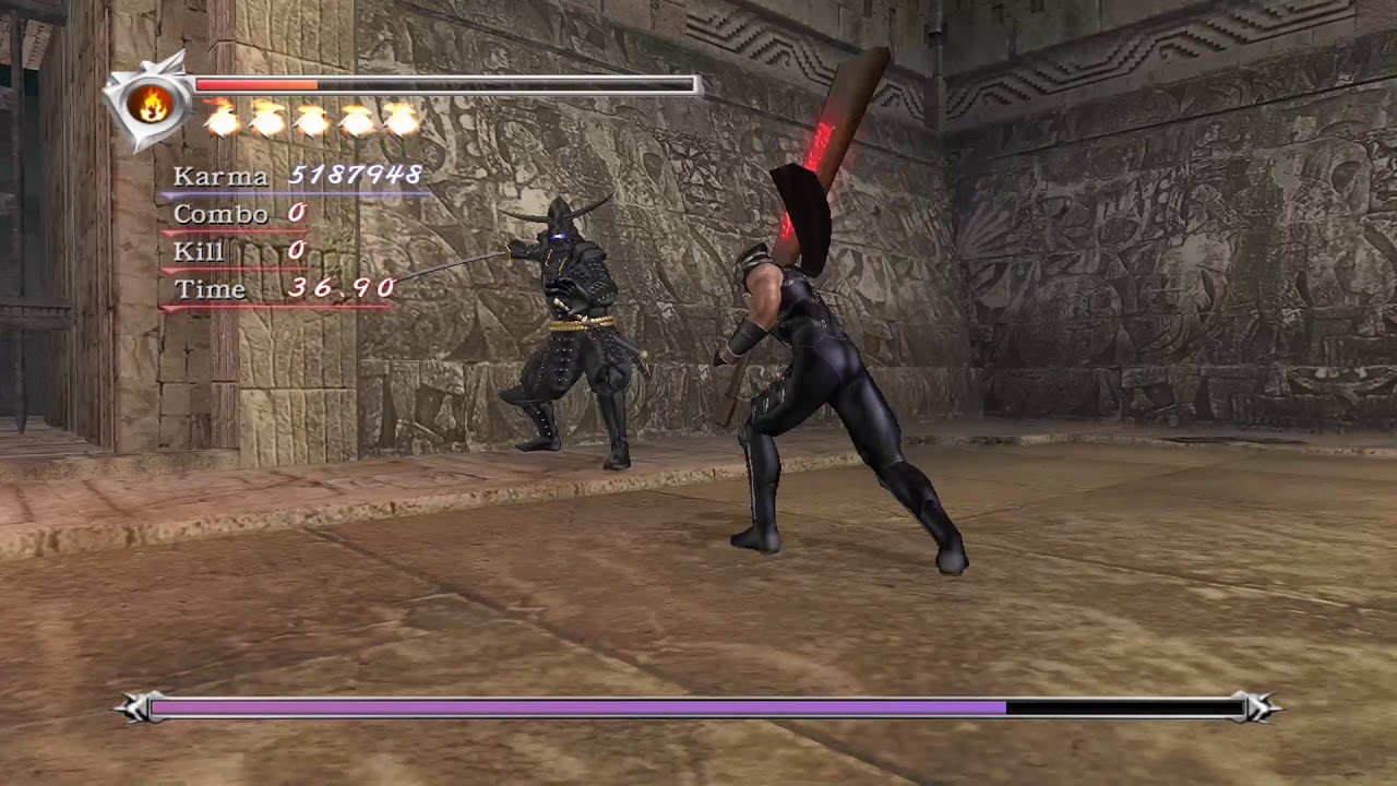Doku Fight Ninja Gaiden Black Youtube