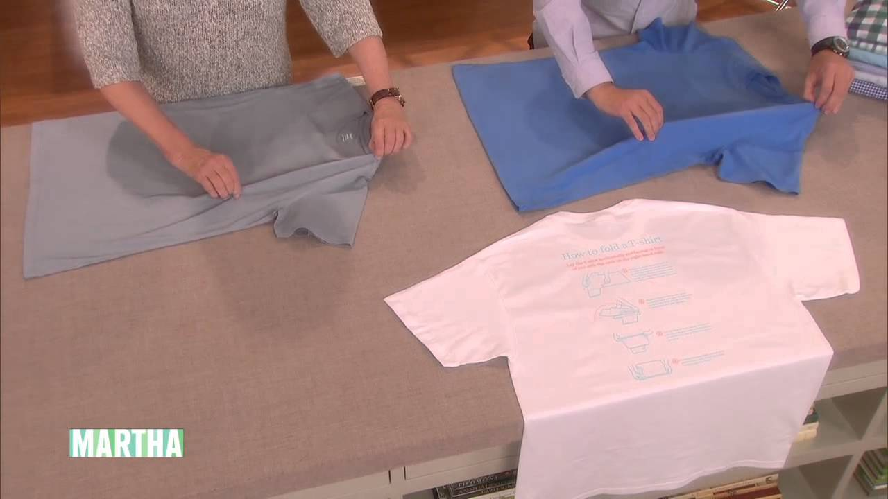 ac6a558f32 How to Fold a T-Shirt