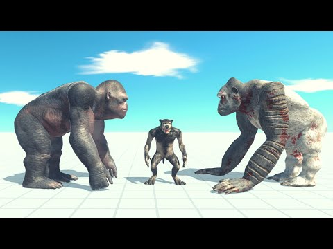 Old And New Goro The Giant Vs 2x Every Unit ARBS  Animal Revolt Battle Simulator