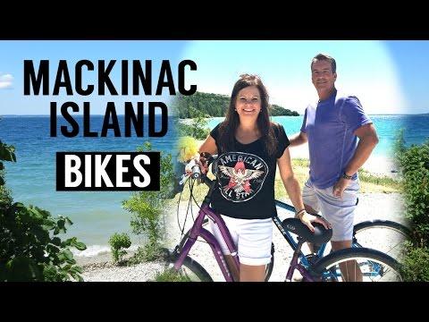 Mackinac Island Bike Trail - Michigan Travel