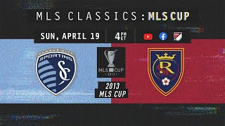 CLASSIC FULL MATCH Sporting Kansas City vs Real Salt Lake Insane Penalty Shootout 2013 MLS Cup