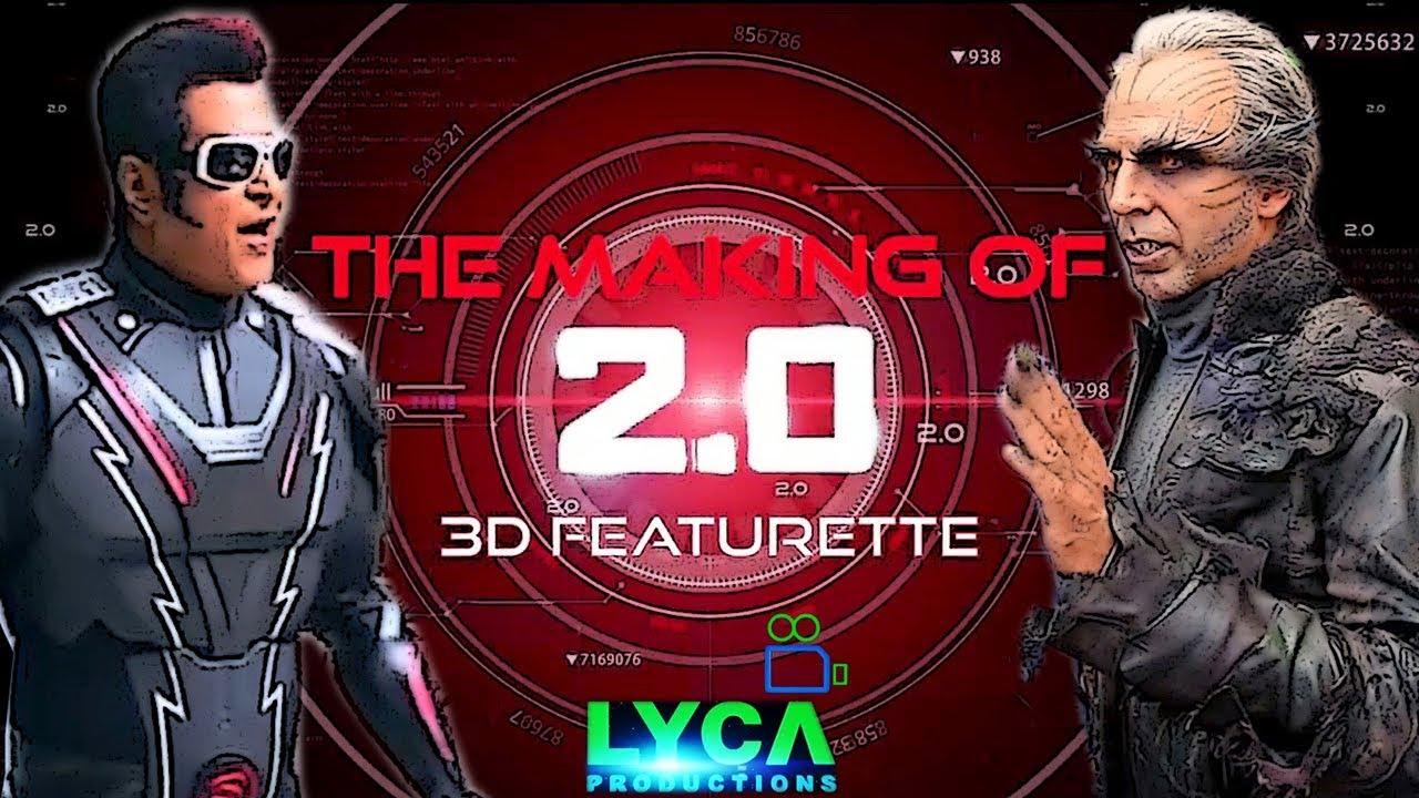 2.0 Making In - 3D Review | Rajinikanth, Akshay Kumar | Shankar ...