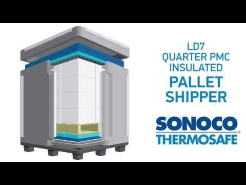 Sonoco ThermoSafe LD7 Quarter PMC