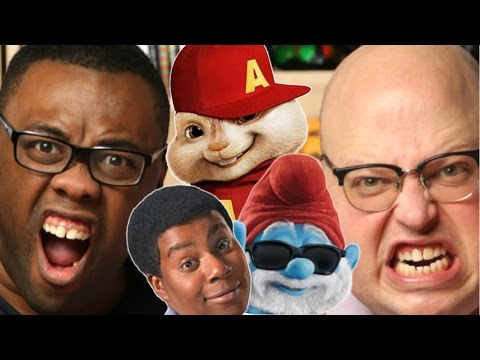 ANGRY & BLACK NERD RANTS : Live-Action Movies Based on Cartoons
