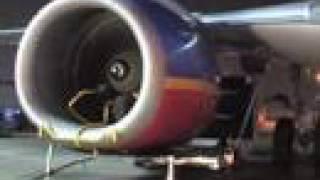 Southwest Airlines Engine Washing