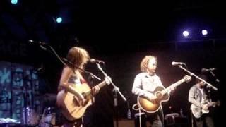 Broken Social Scene - Leslie Feist & Kevin Drew duet LIVE @ Harbourfront