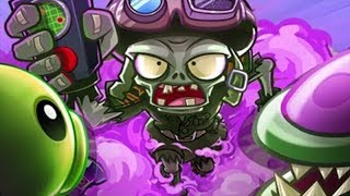 Sky War vs NEW Zomboss China Version - Plants vs Zombies 2