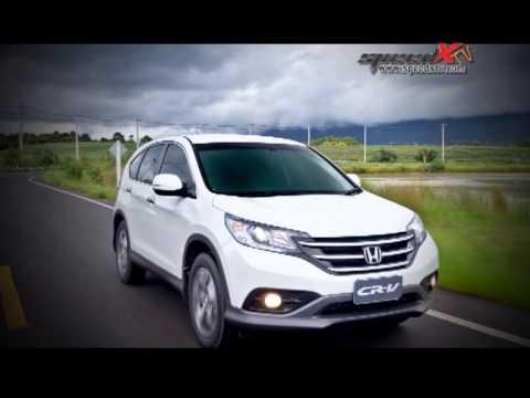 ทดสอบรถยนต์  Honda All New CR-V