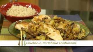 Chicken With Portobello Mushrooms