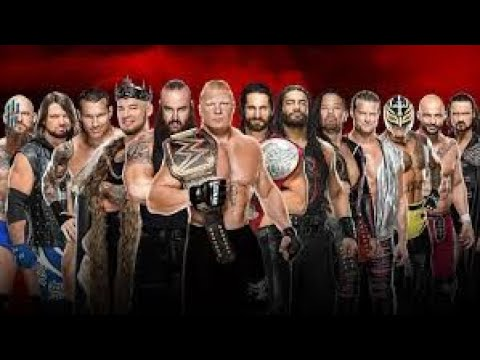 WWE NATIONS II FULL MATCHES II 19 APRIL_2020_Romans