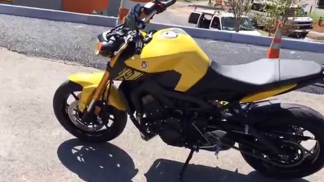 2015 fz 09 in yellow yamaha of knoxville youtube for Yamaha of knoxville