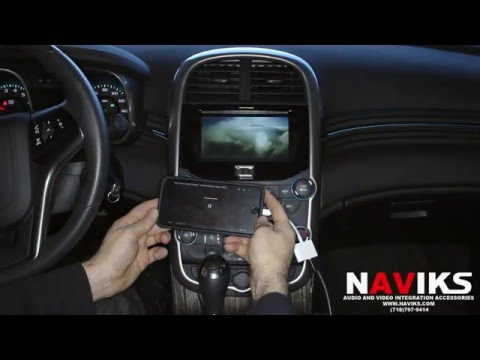 2015 Chevrolet Malibu NAVIKS HDMI Video Interface Add: Rearview Camera, Smartphone Mirroring