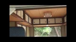 軽ワゴン車の後部を和室に改造