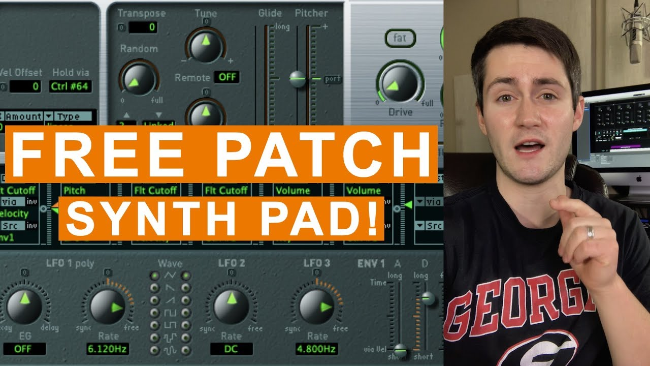 Free MainStage Worship Patch- Synth String Wash Pad from Sunday Sounds