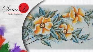 Flores Silvestres em Tecido – Sonalupinturas
