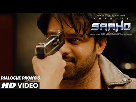 SAAHO - Dialogue Promo 6 | Prabhas, Shraddha Kapoor, Neil Nitin Mukesh | Sujeeth | Vamsi Pramod