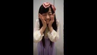 2016.2.6.乙女新党。其原有沙cからのメッセージムービー@タワーレコー...
