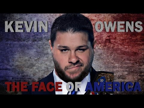 2017 ☁ Kevin Owens Custom Nameplate (Remake) || The Face Of America  ᴴᴰ