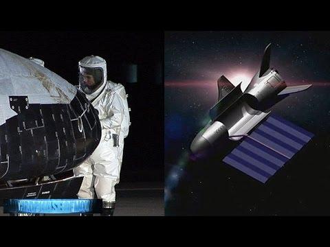 GOTCHA! UFO Hunter Captures X-37 Secret Alien Spacecraft? Night Vision UFO Video CA 10/15/2016