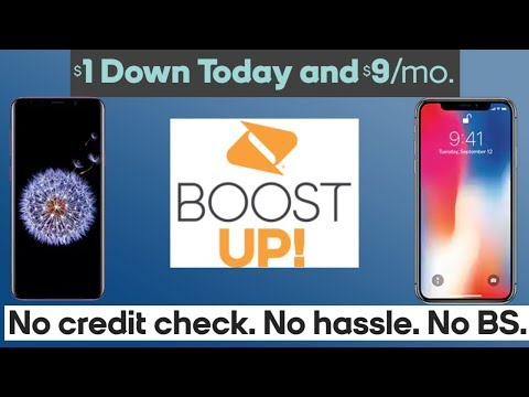 Boost UP! Finance Expensive Phones $1 Down Boost Mobile (Updated)