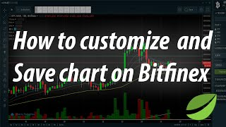 How To Customize And Save Chart On Bitfinex