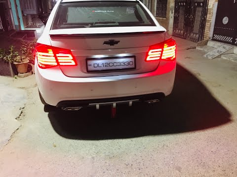 Cruze Modified | Cruze Car | Cruze Car Modified | Cruze Tail Lights | Cruze Diffuser