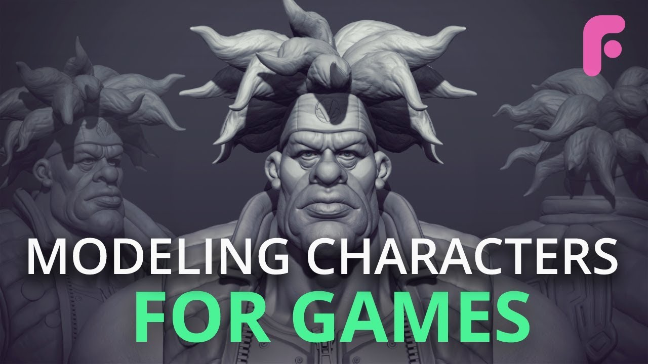 Modeling Characters for Games | FlippedNormals