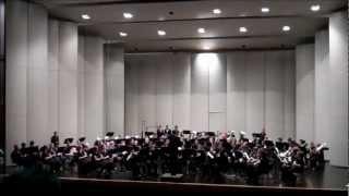 ballard hs symphonic band air from county derry arr by joseph kreines