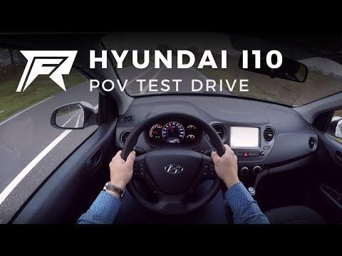 2017 Hyundai i10 - POV Test Drive (no talking, pure driving)