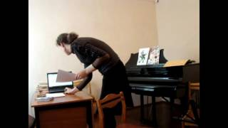 Открытый урок на тему: «Первые шаги в освоении инструмента» Шильниковой Натальи Васильевны.