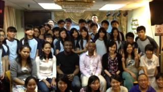 王錦輝中學同學參與油尖旺食物銀行烹調工作