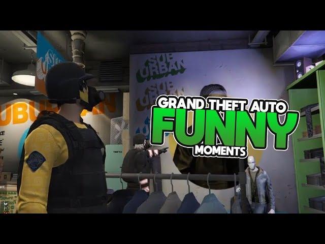 Grand Theft Auto V | Funny Moments