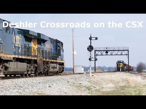 Fake Heritage's, KCS, BN, CSXT 420 and T4's: Deshler Ohio