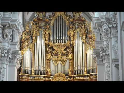 Praludium und Fuge uber BACH at Passau Dom