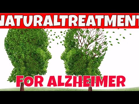 NATURAL TREATMENTS for ALZHEIMER:15 Natural Treatments for Alzheimer