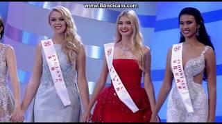 Miss World 2017 Top 5 Finalists