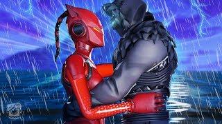 EVIL LYNX FALLS IN LOVE WITH EVIL ZENITH?! *Lynx Story* - A Fortnite Short Film