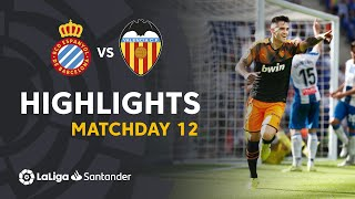 Highlights RCD Espanyol vs Valencia CF (1-2)