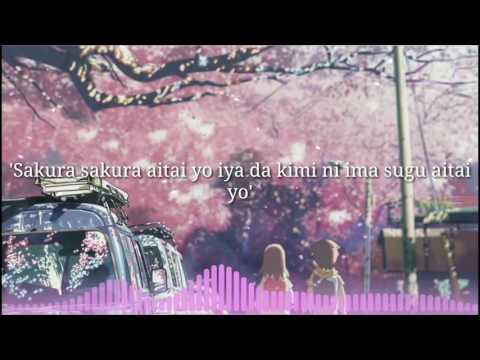 Sakura anata ni deaete yokatta - Nightcore - Lyrics