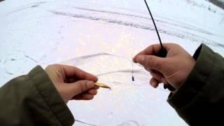 Зимняя рыбалка Ловля окуней на вертикальную блесну