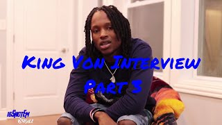 King Von on If Chief Keef Still has love In Oblock, Boss Top, Prince Dre and Winning all Jail Fights