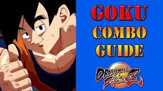 Dragon Ball FighterZ - Base Goku combo guide