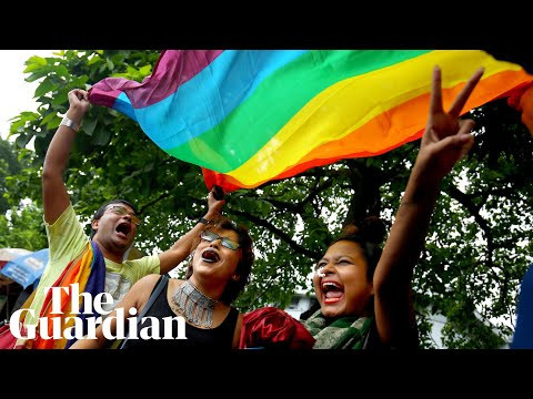 Celebrations erupt in India after landmark gay rights ruling