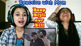 Baap Bijli Aur Bill Ft. Shahid Kapoor | Ashish Chanchlani Reaction with mom